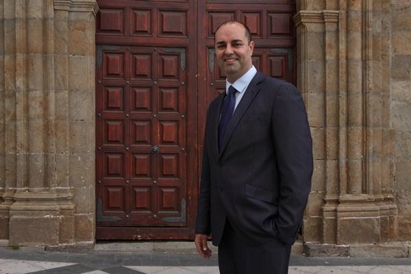 Marcos González Alonso es concejal del Partido Popular y candidato a la Alcaldía de Granadilla de Abona. / DA