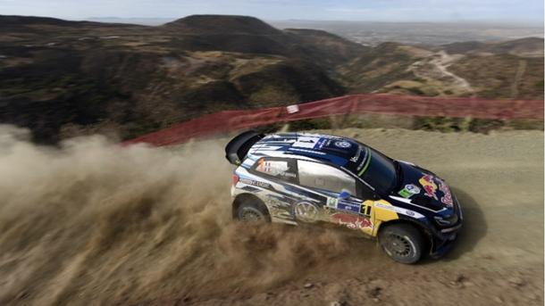 Sebastien Ogier Rally Mexico