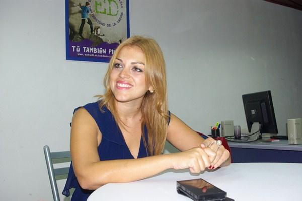 Tamara del Pino. / DA