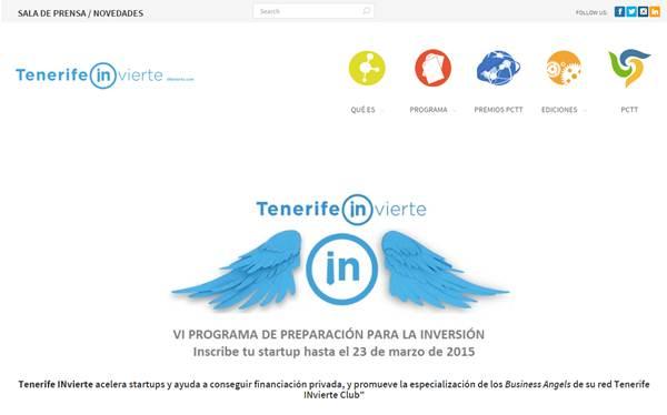 Captura de pantalle de la web de TFInvierte. | DA