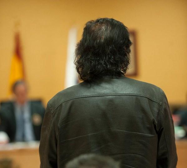Imagen de la primera sesión del juicio, celebrada el lunes. / F. PALLERO