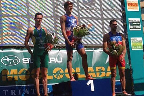 Vicente Hernandez podio Mooloolaba