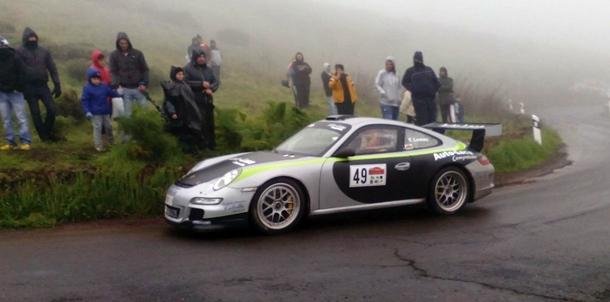 Yeray Lemes Porsche Rally 997 Auto Laca Competicion