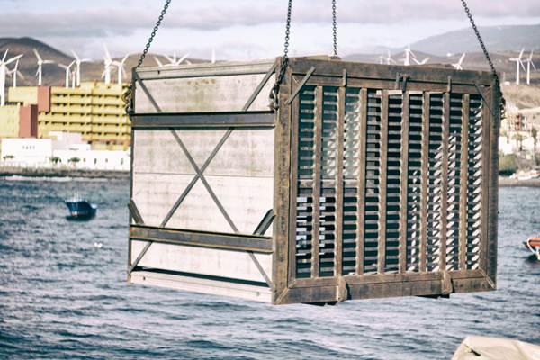 El módulo de almacenamiento está realizado en acero y hormigón. | DA