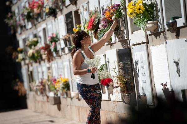 El pago de la tasa de cementerio está suspendido desde finales del año pasado. | FRAN PALLERO