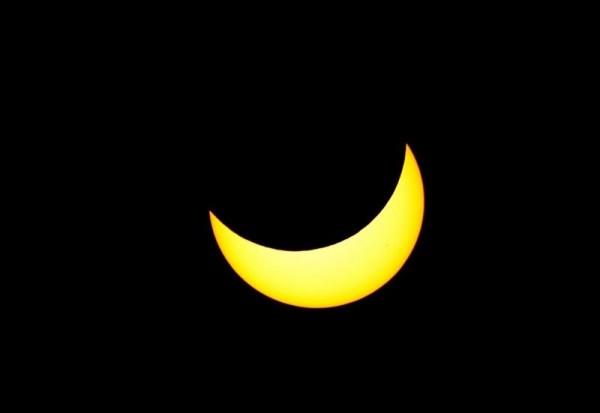 Imagen de archivo de un eclipse de sol. | DA