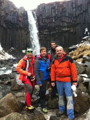 Expedición canaria en Islandia. | DA