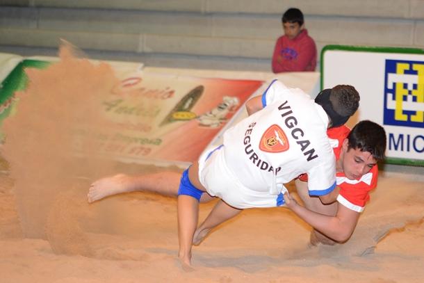 Los mejores luchadores de las categorías de base tinerfeños acudirán al terrero Pancho Suárez. / DA