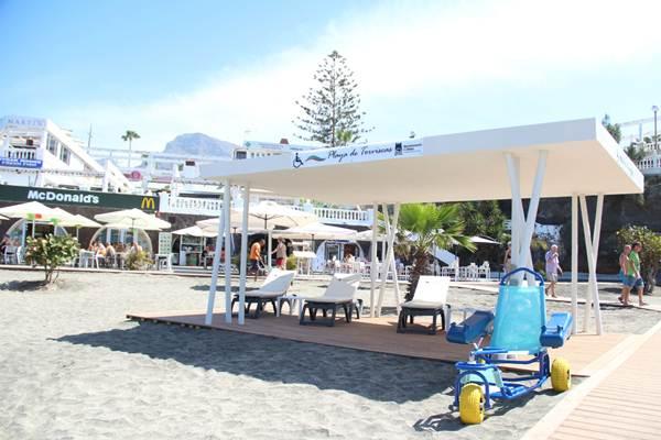La accesibilidad ha sido uno de los objetivos de las reformas realizadas por el concesionario de las playas. | DA