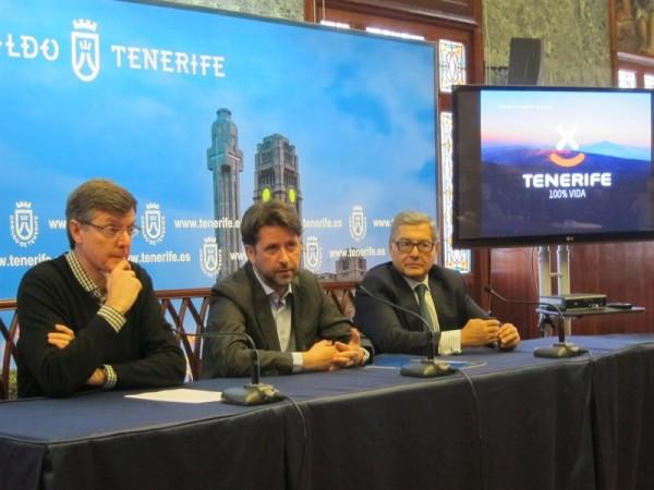 Presentación del nuevo slogan de Tenerife. | EP