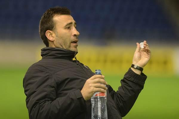 Raúl Agné ha completado sus primeros 30 días al frente de la escuadra chicharrera. | FRAN PALLERO