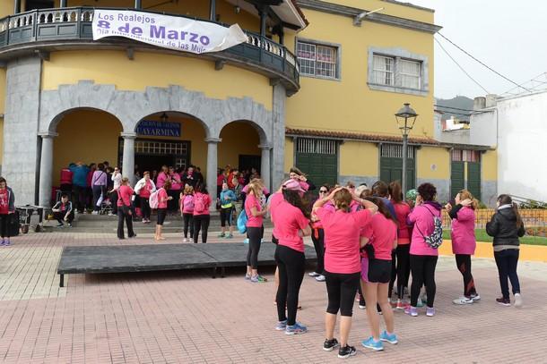 Las mujeres no pudieron correr en Los Realejos. / SERGIO MÉNDEZ
