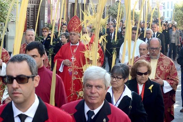 Domingo de Ramos en La Laguna. / SERGIO MÉNDEZ