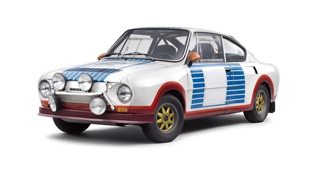 ŠKODA 130 RS que hizo su debut en un rally hace 40 años. | DA