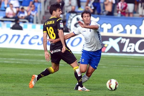 Los insulares esperan hacer bueno el empate frente al Zaragoza. / S. M.