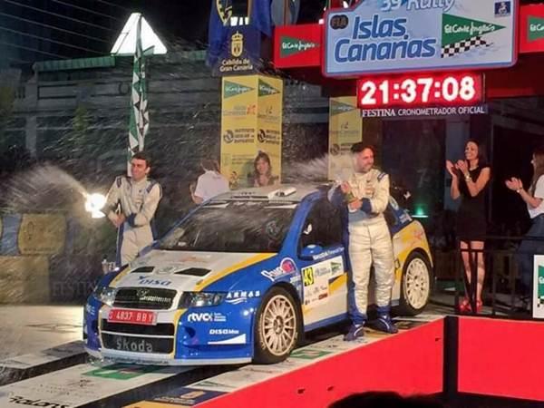 Alfonso Viera subió al podio Autonómico.   DA