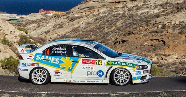 Ángel Paniceres Mitsubishi Lancer Evo X Rally Villa de Adeje