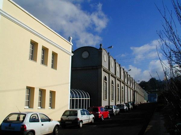 Fachada de la sede de Bodegas Insulares de Tenerife, ubicada en Tacoronte. / DA