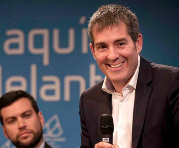 Fernando Clavijo, candidato de CC a la presidencia autonómica. / DA