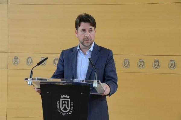 Carlos Alonso durante la rueda de prensa. | EP