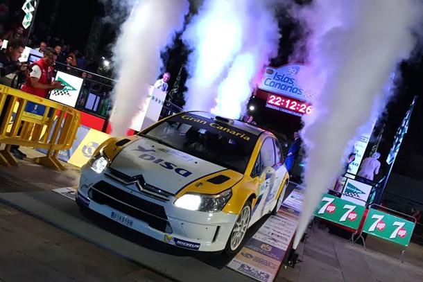 Citroen C4 WRC Salida Islas Canarias