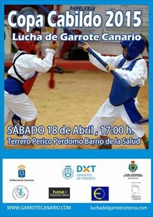 Cartel de la Copa Cabildo de lucha del garrote. |DA