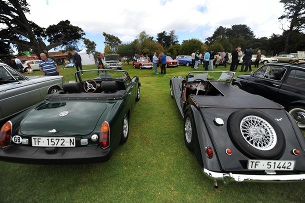 FPII concurso de elegancia de vehículos históricos y clásicos