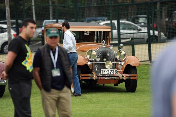 FP II concurso de elegancia de vehículos históricos y clásicos
