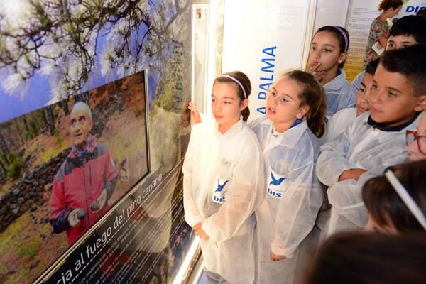 La presentación del proyecto se realizó en el colegio Echeyde, en Ofra. / SERGIO MÉNDEZ
