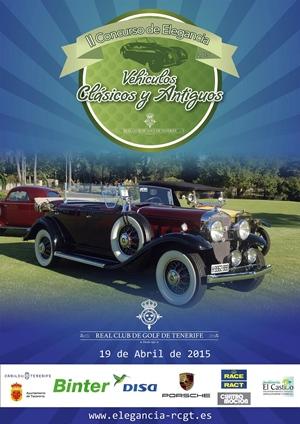 II Concurso de Elegancia de Vehículos Clásicos e Históricos de Tenerife