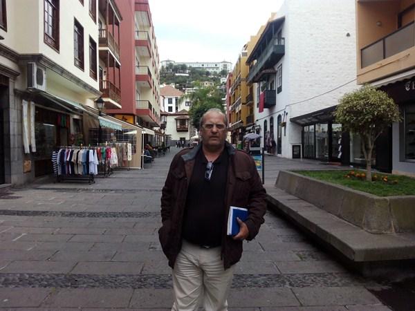 Javier Jiménez es el cabeza de lista de la nueva formación política en la ciudad turística. / DA