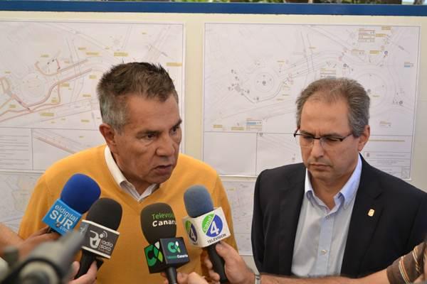Rodríguez Fraga y Delgado explican los pormenores del proyecto. | DA
