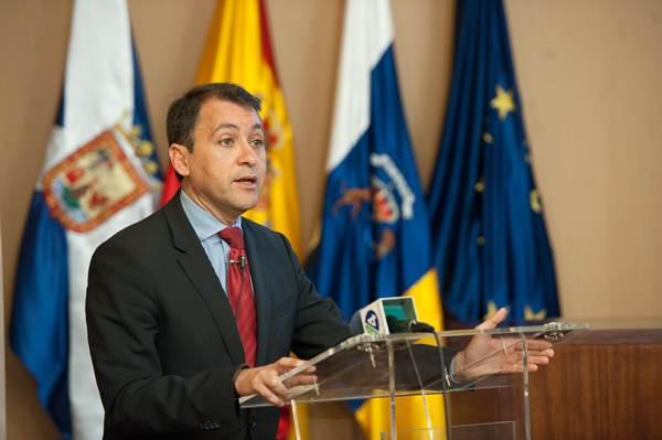 José Manuel Bermúdez, ayer, durante la conferencia en la Cámara. | F. P.