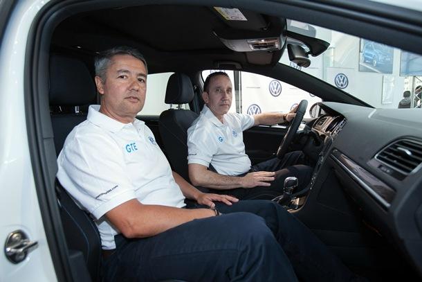 José Luis Sosa y Juan Monzón, con el Volkswagen Golf GTE, parten como favoritos en el Eco Rally. | DA
