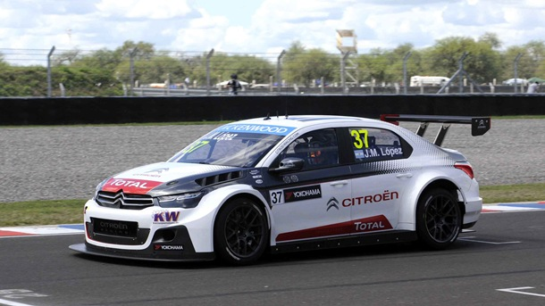 José María 'Pechito' López (Citroën C-Elysee) lidera el  WTCC. | DA