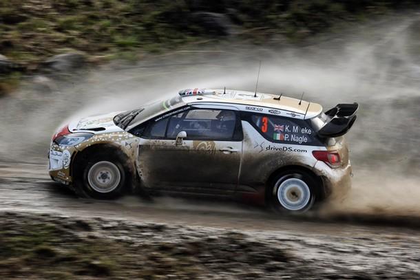 KRIS MEEKE (Citroën DS 3 WRC) ganador del Rally de Argentina.   DA
