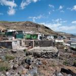 Las lluvias del pasado octubre destrozaron algunas zonas del asentamiento ./ FRAN PALLERO