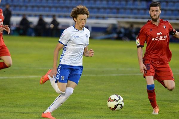 En los últimos tres meses la situación de Maxi Pérez ha mejorado en el equipo insular. / SERGIO MÉNDEZ