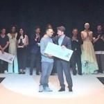 Andrés Jarabo, con su colección 'Multimateria', ha ganado el VII Concurso de Jóvenes Diseñadores. / Tenerife Moda