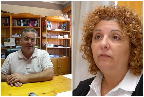 Manuel Fumero y Elena Luis. | DA