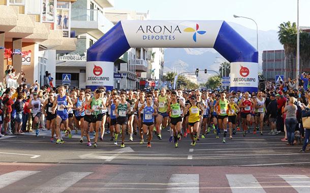 Medio Maratón de Las Galletas