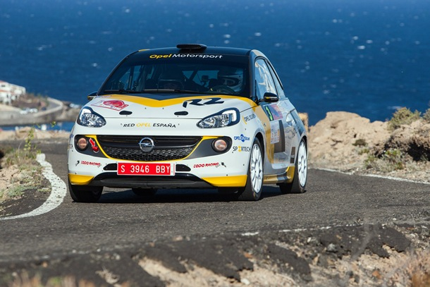 Opel Motorsport Team Spain Esteban Vallín Rally Villa de Adeje