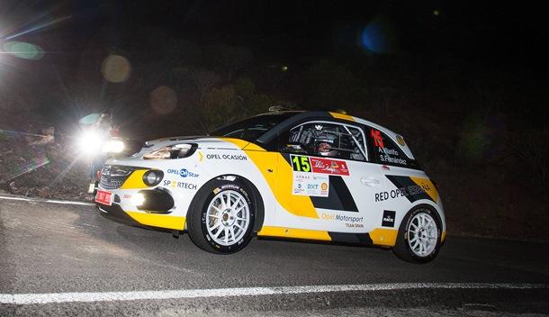 Opel Motorsport Team Spain Ángela Vilariño Rally Villa de Adeje