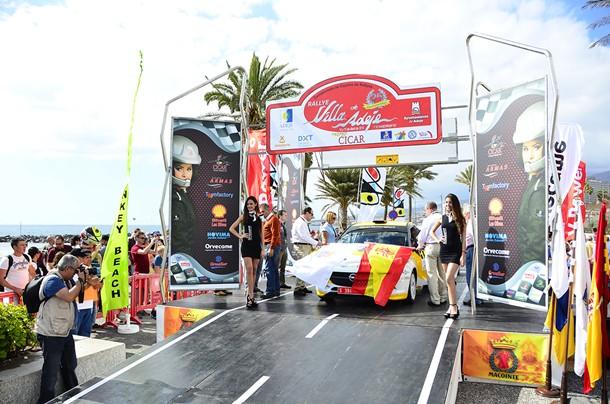 Opel Motorsport Team Spain Rally de Adeje