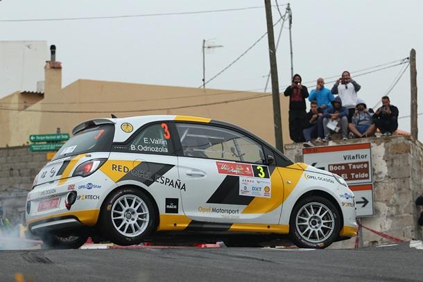Opel Motorsport Team Spain en el Rally Villa de Adeje Vallín