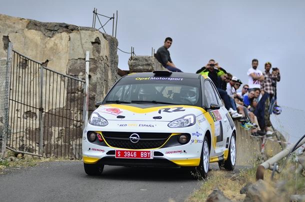 Opel Motorsport Team Spain en el Rally Villa de Adeje Vallin