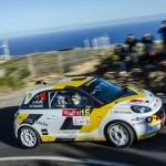 Opel Motorsport Team Spain en el Rallye Villa de Adeje Ángela Vilariño y Sara Fernández