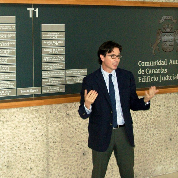 El viceconsejero de Justicia, Pedro Herrera. / DA