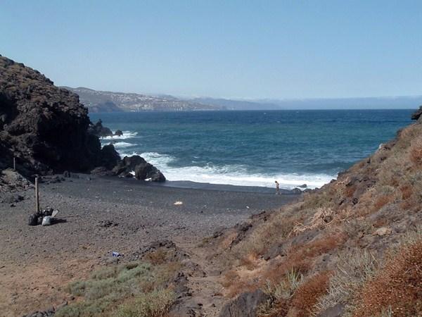 La pequeña playa de Samarines. / NORCHI
