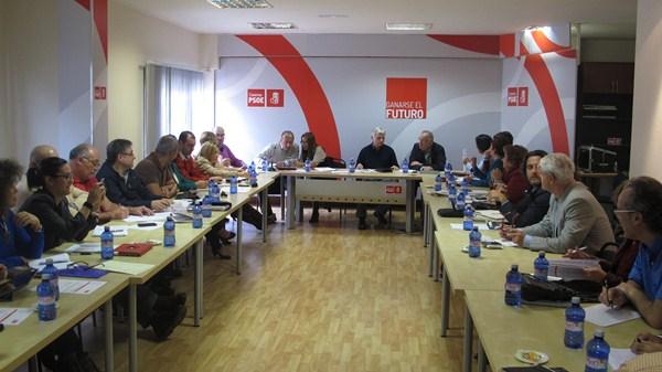 Reunión de la ejecutiva federal del PSOE, en una imagen de archivo. / DA